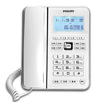 飞利浦 PHILIPS 电话机 CORD228 (白色)