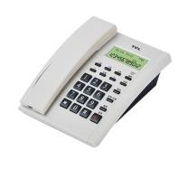 TCL 电话机 TSD HCD868(79) 办公家用 来电显示 免电池 经典版 (雅致白)
