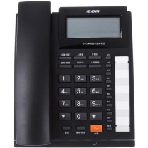 步步高 BBK 电话机 HCD007(159)TSD (黑色) 带分机口