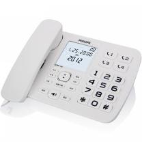 飞利浦 PHILIPS 电话机 CORD168 (白色)