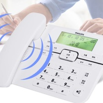飞利浦 PHILIPS 电话机 CORD118 (白色)