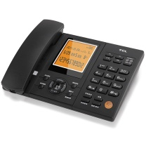 TCL 插卡录音电话 HCD868(88) (铁灰)