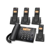摩托罗拉 CF203C 8G 1拖3 无线录音电话机 黑色(单位:个)