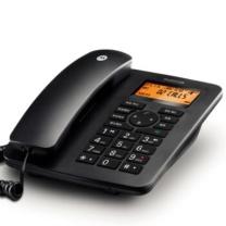 摩托罗拉 MOTOROLA 插卡录音电话机 CT700C (黑色)