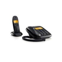 摩托罗拉 MOTOROLA 数字无绳电话机 CL101C (黑色) 一拖一子母机