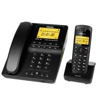 飞利浦 PHILIPS 数字无绳 子母机电话机 DCTG792 (黑色)