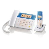 步步高 W101 无绳电话机 子母机 1拖1 白色(单位:台)