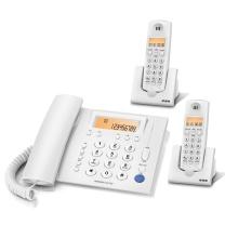 步步高 W263 19.5*16.8cm 一拖二无线子母机固定座机电话 白(单位:台)