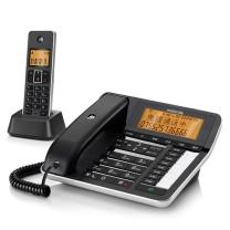 摩托罗拉 MOTOROLA 无绳电话机 C7501RC 一拖一 (黑色)