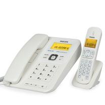 飞利浦 PHILIPS 数字无绳电话机 DCTG182 2.4G (白色)
