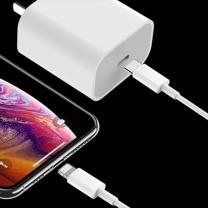 苹果 Apple 快充充电器 iphone 11 pro Xs max 1米  18wiphone 11 pro Xs max充电头充电线PD快充套装