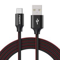 品胜 PISEN Type-C数据线 1.2米 USB-C充电线 适用华为P30 Pro/OPPO Reno10/小米9/魅族16th (牛仔黑)