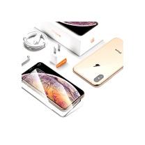 国产 手机贴膜 图拉斯 苹果X/XS/XR钢化膜iPhone XS Max全屏全覆盖9D抗蓝光玻璃手机贴膜前后背膜 5.8英寸【X/XS通用】蓝光款-真9D全屏隐形膜