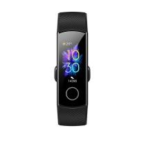 荣耀 NFC版智能运动幻彩屏触控表盘市场睡眠血氧检测公交卡地铁卡 50米防水+泳姿识别 手环5 (陨石黑)