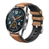 华为 HUAWEI HUAWEI WATCH手表 (两周续航+户外运动手表+实时心率+高清彩屏+睡眠/压力监测+NFC支付) GT时尚版 (钢色)