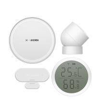 华为 HUAWEI HUAWEI 华为智选生态产品 豪恩智能安防家庭套装 T2 (白色)