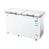 海尔 Haier 冷柜冰柜商用卧式家用单温冷冻-40℃低温 白 BC/BD-519HEK