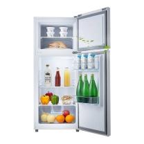 TCL 小型双门冰箱 BCD-118KA9 118L (闪白银) 全国大部分地区含运(偏远地区加收费用,详询客服)