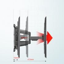 NB 电视旋转伸缩挂架 757-L400  适用于32-70英寸电视机(不含安装服务)