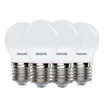 飞利浦 PHILIPS LED灯泡 E27/3.5W 白光  (单只价格 整箱起订:12只/箱)