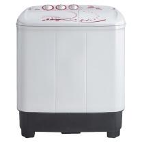 美的 Midea 双桶双缸半自动洗衣机 MP80-DS805 8kg (银色) 全国大部分地区含运(偏远地区加收运费,详询客服)