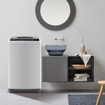 美的 Midea 全自动波轮洗衣机 MB80V31D 8kg (银灰色) 全国大部分地区含运(偏远地区加收运费,详询客服)