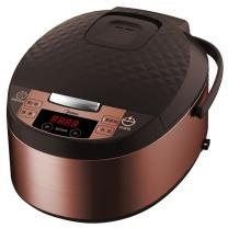 美的 Midea 电饭煲5L升大容量金属拉丝家用预约智能电饭锅 MB-FS5073A 棕色