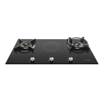 内芙 嵌入式电气灶两用燃气灶家用液化气 FM921TTIX