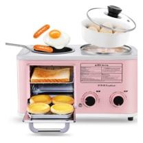 荣事达 Royalstar 多功能三合一烤面包机 RS-KG12A (粉色)