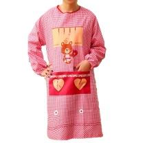 艺诺琳依 厨房长袖卡通围裙 长91cm 宽102cm 袖长68.5cm