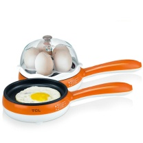 TCL 智能煎煮蛋器 TP-JP351G 5个鸡蛋