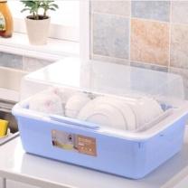 协益 厨房放碗架 大号 25cm*35cm*49cm (随机) 塑料