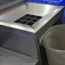 国产 收餐台 订制 80*70*80公分 不锈钢材质
