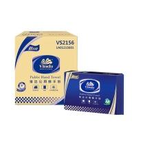 维达 vinda 商用擦手纸 VS2156 单层三折 200张/包  20包/箱