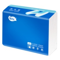 维尔美 Wellmind 擦手纸 单层三折 WCA200/WCX200 200抽/包  20包/箱 (新老包装随机发货)