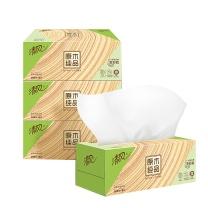 清风 Breeze 原木纯品盒装面巾纸双层 B338CN/C1/C2  200抽/盒 3盒/提 12提/箱 (新老包装交替以实物为准)