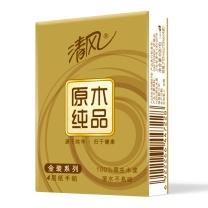清风 Breeze 原木纯品金装系列手帕纸 B64CJ1 四层 8张/包  12包/条 30条/箱