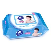 维达 vinda 婴儿护肤柔湿巾 VW2002  80片/包 12包/箱 (新老包装交替以实物为准)
