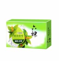 六神 Liushen 香皂 90g  绿茶+甘草