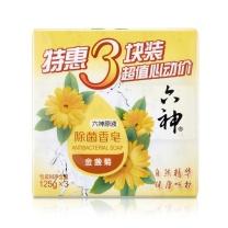 六神 Liushen 除菌香皂特惠三块装  (金盏菊)