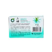 六神 Liushen 香皂 125g/块  72块/箱 (滋润芦荟)