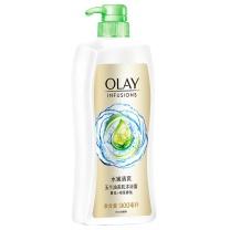 玉兰油 OLAY 美肌清爽沐浴露 水嫩清爽 900ml  6瓶/箱
