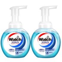 威露士 Walch 泡沫抑菌洗手液 健康呵护两支装 225ml/瓶 2瓶/组
