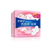 护舒宝 whisper 云感棉极薄日用 卫生巾 10片  24包/箱