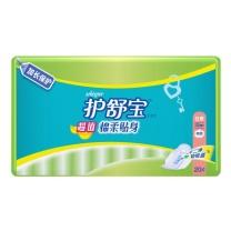 护舒宝 whisper 超值棉柔贴身日用卫生巾 20片  12包/箱