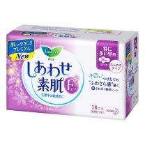 花王 乐而雅F系列 日用卫生巾 25cm 18片