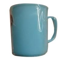 国产 口杯定制 (蓝色) 家用简约塑料方形