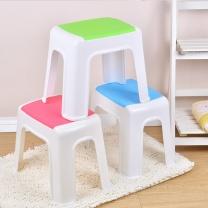 梦庭 MENGTING 塑料凳子方凳矮凳2# 2334