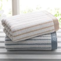 洁丽雅 grace 经典条纹系列全棉强吸水面巾 6450 72*34cm 90g