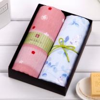 内野 UCHINO 和风毛巾两件套 Y10321  (礼盒)